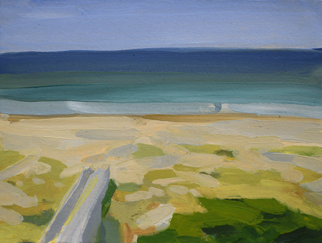 , 'Holden Beach from Balcony,' 2018, Richard Levy Gallery