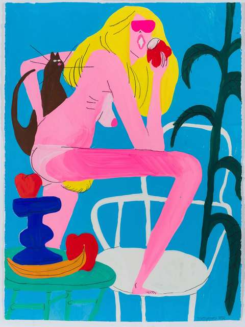 , 'Girl with apple,' , Javier Lopez & Fer Frances