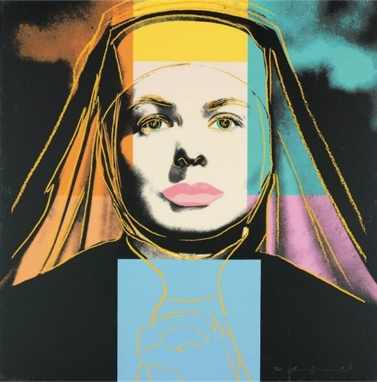 Andy Warhol, 'Ingrid Bergman: The Nun (F&S.II.314)', 1983, Robin Rile Fine Art