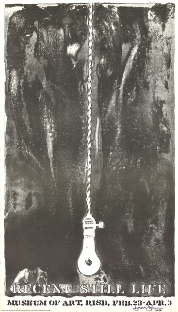 Jasper Johns, 'Recent Still Life (Light Bulb)', 1968, ArtWise