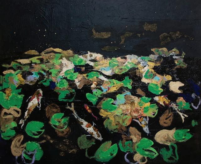 , 'Stagno con carpe,' 2016, Maddox Gallery