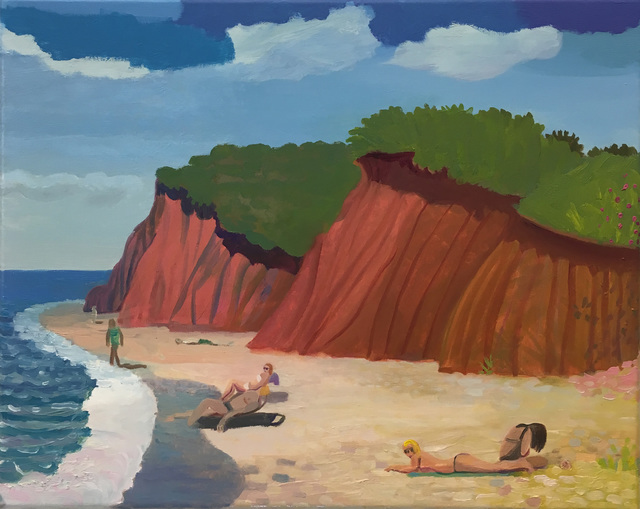 Daniel Heidkamp, 'The Beach', 2019, Half Gallery