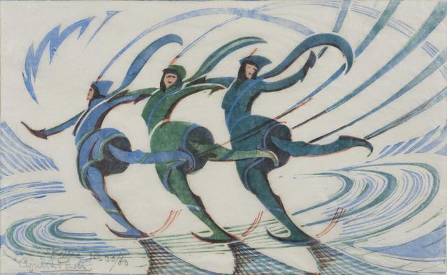 , 'Skaters,' 1932, Redfern Gallery Ltd.