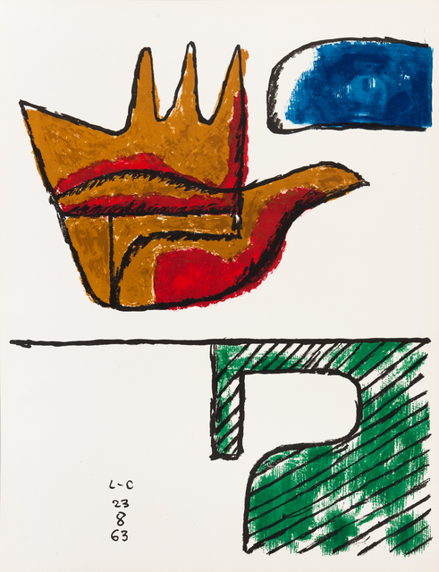 , 'The Open Hand,' 1963, Zuleika Gallery
