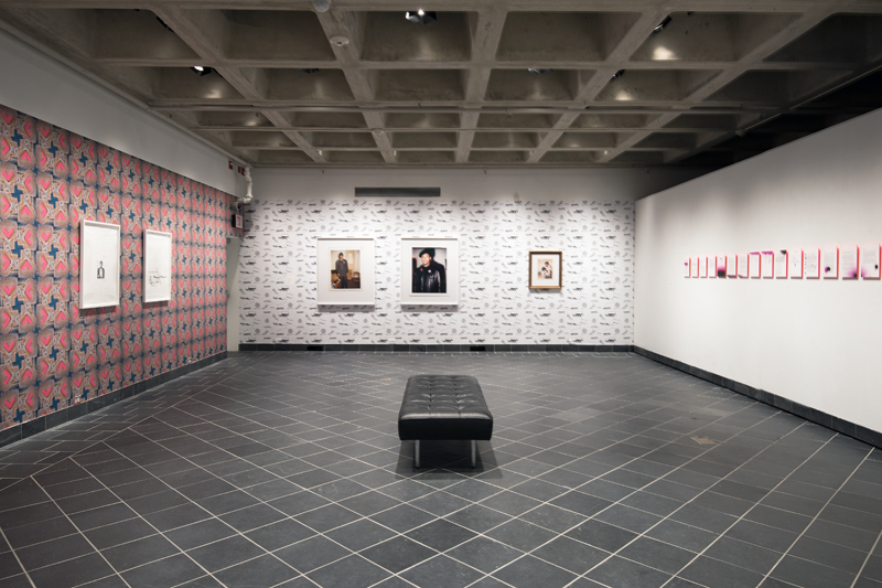 Installation view, Sadie Barnette: Dear 1968,... at Cantor Fitzgerald Gallery. Photo: Lisa Boughter
