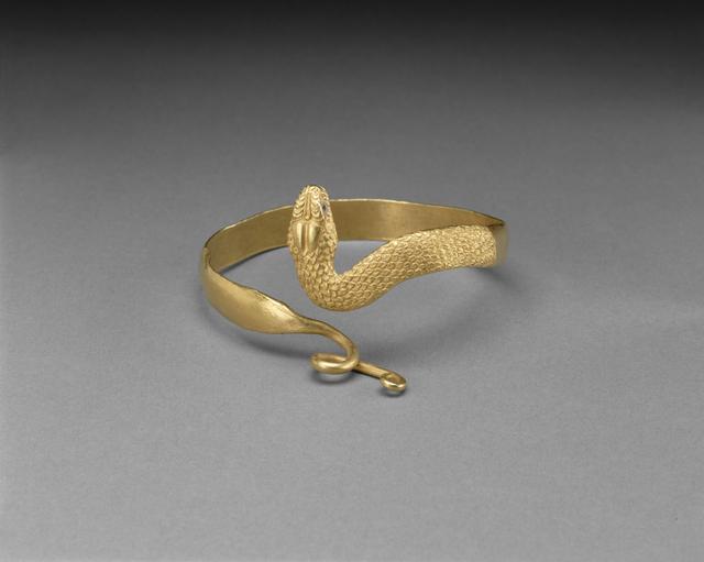 'Snake Bracelet',  3rd -2nd century B.C., J. Paul Getty Museum