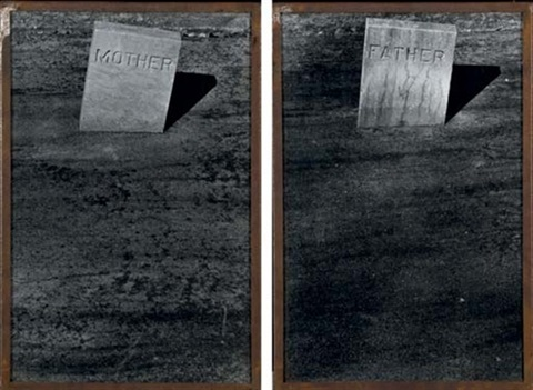 , 'Les Tombes: Mother and Father,' 1990, Laurence Miller Gallery