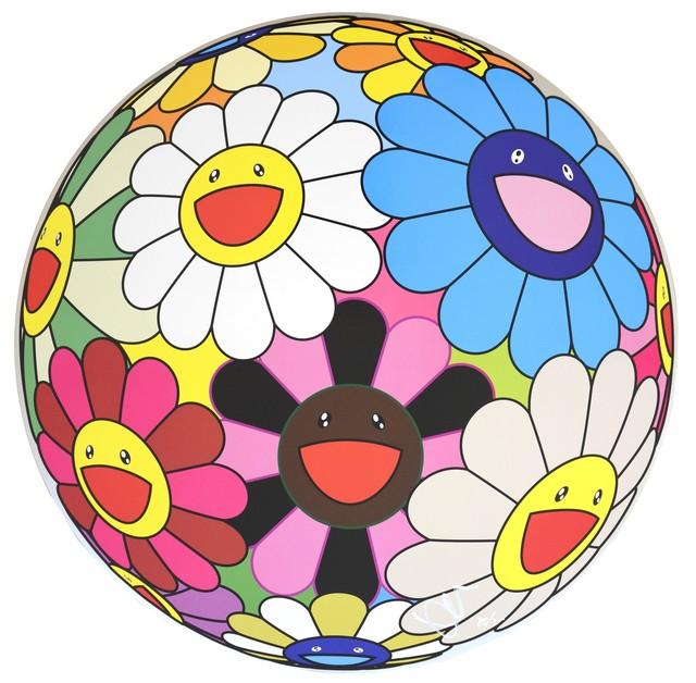 Takashi Murakami, 'Takashi Murakami, Flower Ball (algae blue), 2013', 2013, Shapero Modern