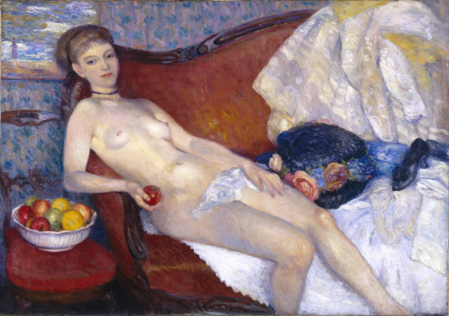 , 'Girl with Apple,' 1909-1910, Parrish Art Museum