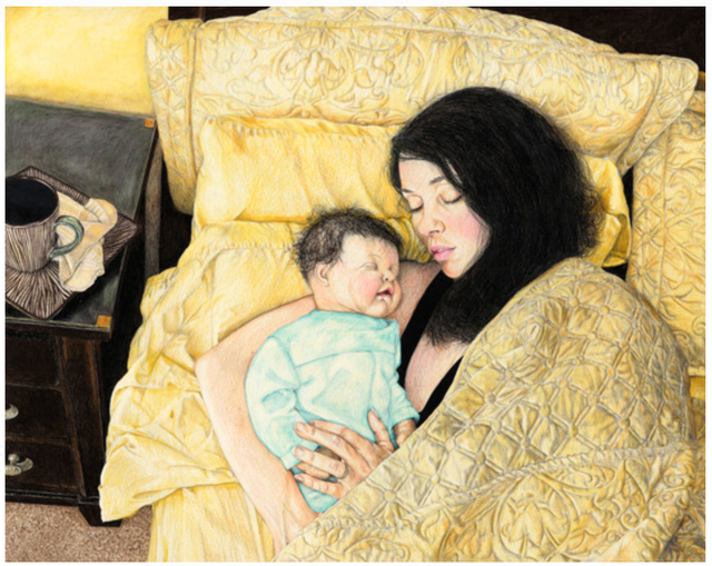 , 'After Breakfast in Bed,' 2011, CULT | Aimee Friberg Exhibitions