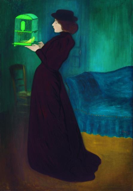 , 'Femme à la cage,' 1892, Musée du Luxembourg