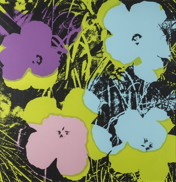 Andy Warhol, 'Flowers', Print, Screenprint in colours, on stiff wove paper, Forum Auctions