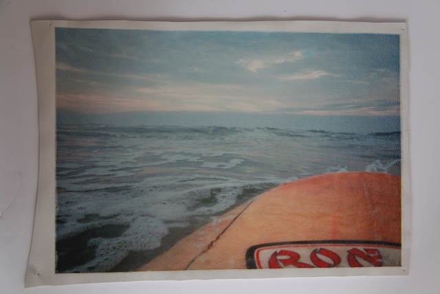 , 'White Leather Series: Paddling out early morning Rockaway (Ron Jon) ,' 2003-2015, Jo Shane + Maripol