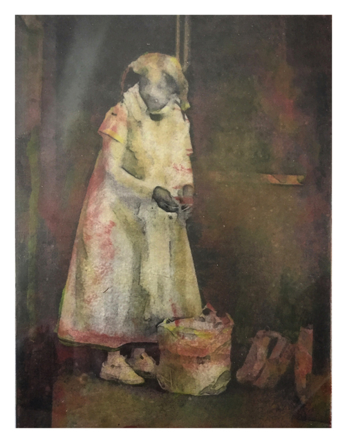 Lori Horowitz, 'Seeking Shelter', 2019, Print, Monoprint, The Galleries at Salmagundi