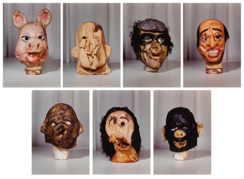 Paul McCarthy, 'Masks (Small) from the Propo series (portfolio of 7),' 1994, Sotheby's: Contemporary Art Day Auction