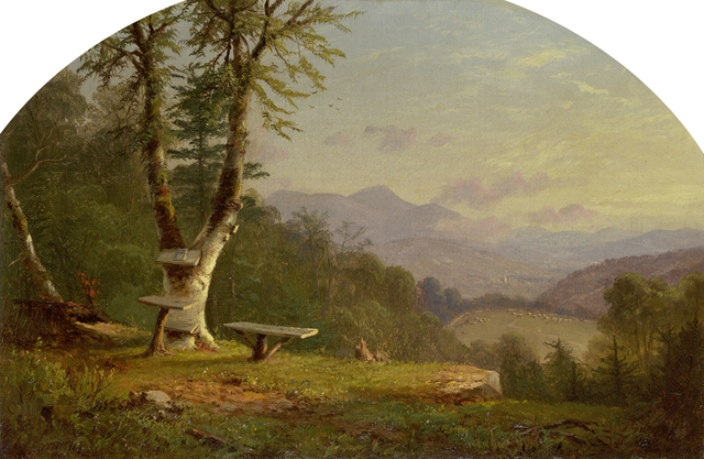 , 'View from the Bluff,' 1861, Questroyal Fine Art