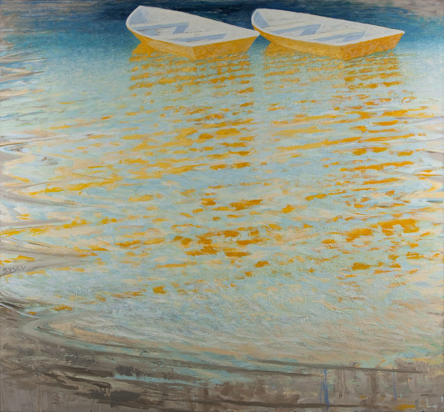 , 'Yellow Boats,' 2008-2015, Cross Mackenzie Gallery