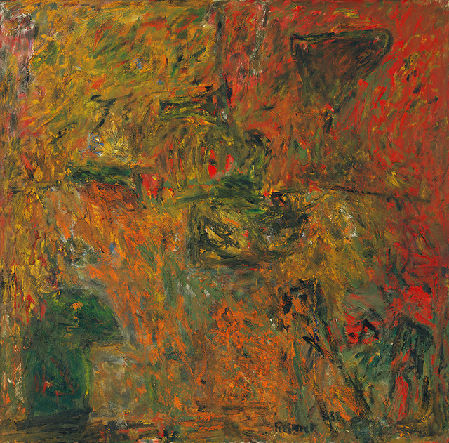 Milton Resnick, 'Y + R', 1958, Painting, Oil on canvas, The Milton Resnick and Pat Passlof Foundation
