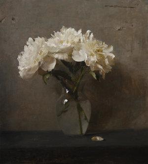 "Michael Klein, '""White Peonies""', 2015, Maxwell Alexander Gallery"