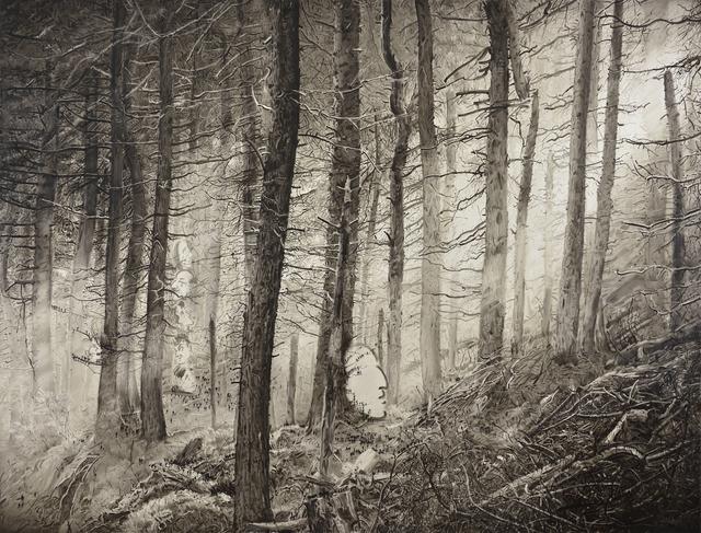 , 'black light no*3,' 2016, rosenfeld porcini