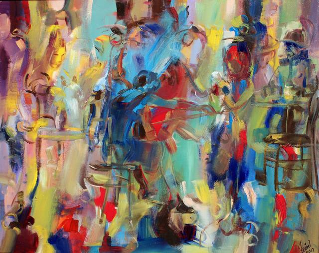 , 'Ignited Cello,' 2017, Art Village Gallery
