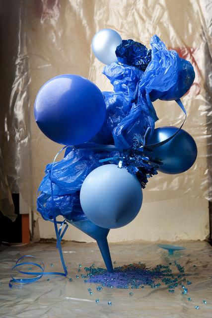 , 'Plastic Blue #1,' 2013, Viasaterna