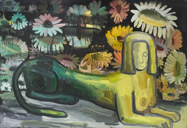 Judith Linhares, 'Sphinx', 1990, P.P.O.W