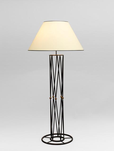 ", '""Mirabeau"" floorlamp,' ca. 1950, Galerie Jacques Lacoste"