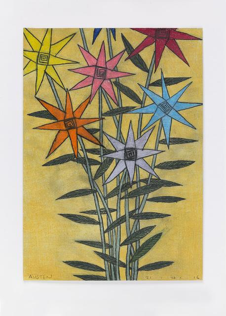 , 'Untitled (night flowers) 21.4.16,' 2016, Ingleby Gallery