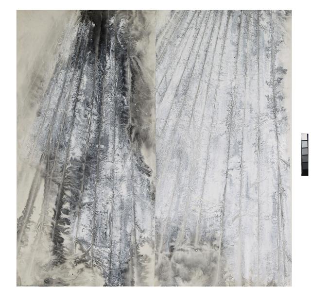 , 'Eroded Strata,' 2015, Ink Studio