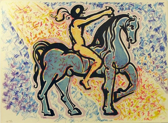 Salvador Dalí, 'La Jungle Humaine - Le Cavalier', 1976, Gregg Shienbaum Fine Art
