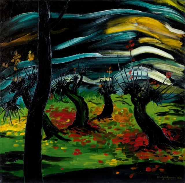 , 'Autumn at Kiziki,' 1976, Galerie Kornfeld