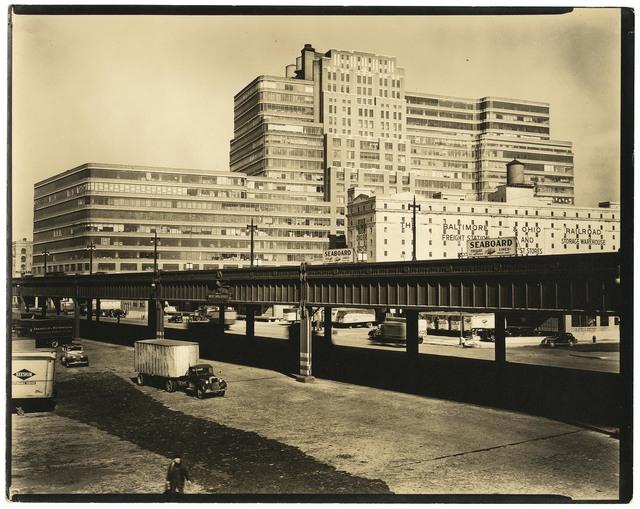 , 'Starrett Lehigh Building II.,' 1938, The Old Print Shop, Inc.
