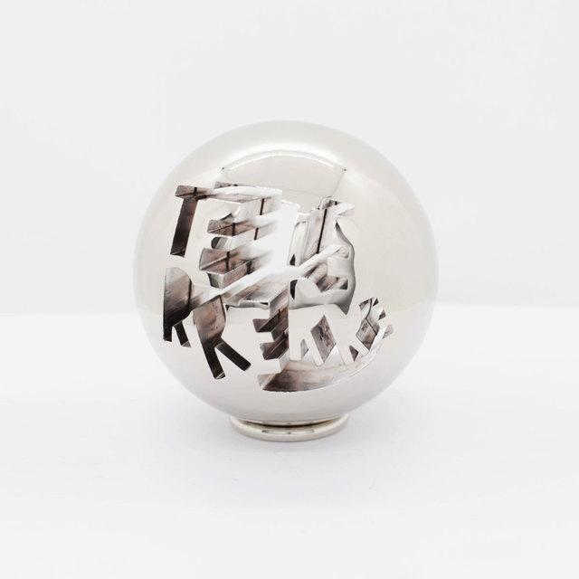Bernard Quentin, 'TERRE (Earth) - Silver', 2019, Sculpture, Cast metal, Galerie Loft