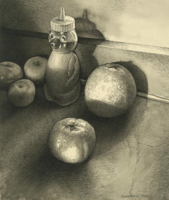 Scott Prior, 'Still Life with Honey Bear', 1989, William Baczek Fine Arts