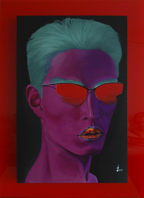 , 'Oriental Purple,' 2017, Addicted Art Gallery