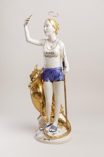 Claire Partington, 'Santa Margerita', 2019, Sculpture, Glazed ceramics and mixed media, Winston Wächter Fine Art