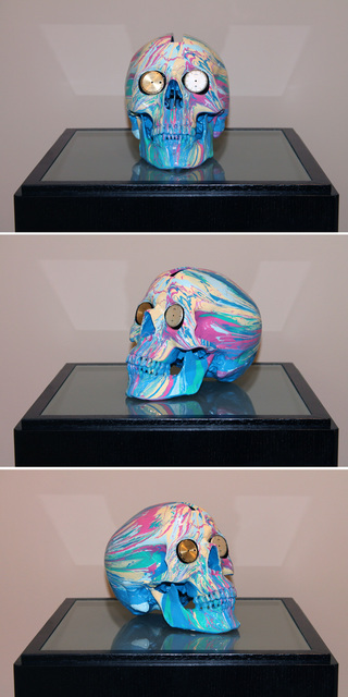 Damien Hirst, 'The Hours Spin Skull #5', 2009, Kenneth A. Friedman & Co.