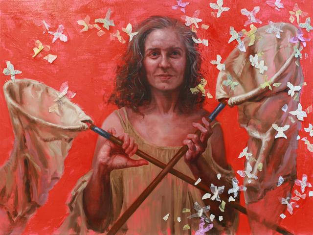 Judy Takács, 'Ephemera Collector', 2917, 33 Contemporary