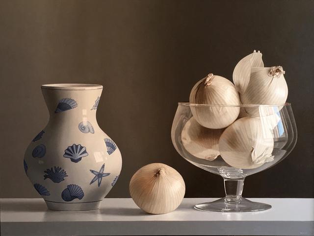 , 'WHITE ONIONS,' , ArtSpace / Virginia Miller Galleries