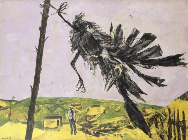 , 'Rook in the wind, Isle of Man,' 1954, Christopher Kingzett Fine Art