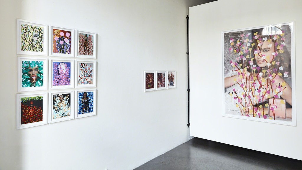 Michael De Feo, 'The Fashion Pages' installation view at The Garage, Amsterdam.