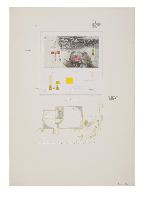 , 'Sembra che lo zio Sigmund abbia aggiunto: ... ,' 1972, Galerie Michael Hasenclever