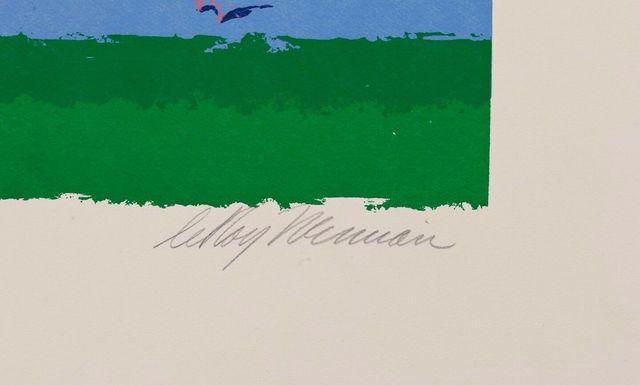 LeRoy Neiman, 'In the Stretch', 1972, Modern Artifact