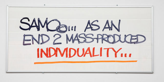, 'As An End 2 Mass-Produced Individuality,' 2018, Gastman