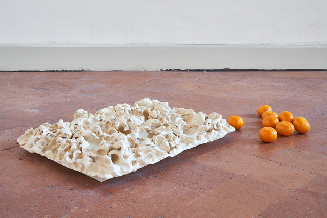 Serena Fineschi, 'Paesaggi d'inverno (Caption Series)', 2020, Sculpture, Clay, seasonal clementines, Palazzo Monti