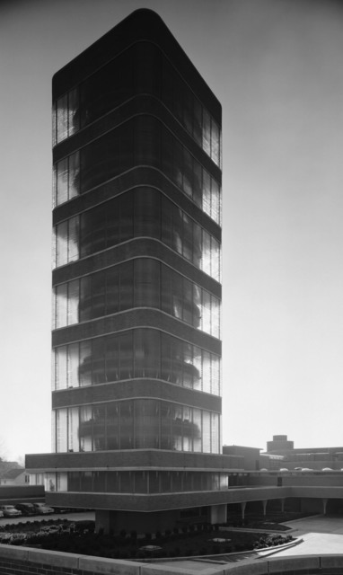 , 'Johnson Wax Administration Building and Research Tower, Frank Lloyd Wright, Racine, WI,' 1950, Yossi Milo Gallery