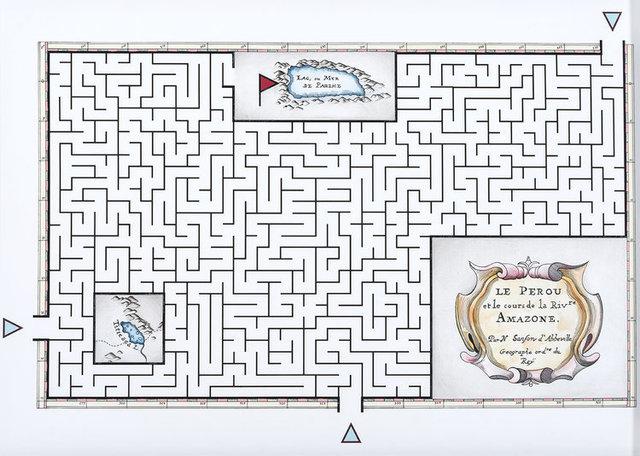 , 'Mapa Laberinto #4,' 2016, Espacio El Dorado