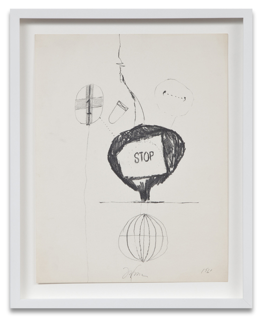 , 'Bomb Drawing 4,' 1961, Kohn Gallery