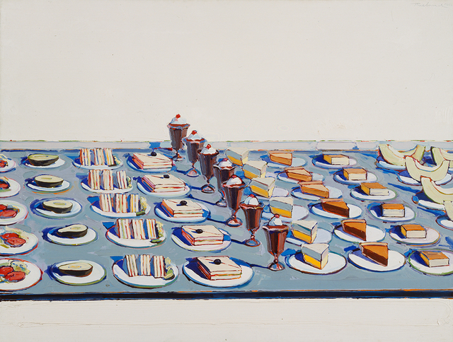 , 'Salads, Sandwiches, and Desserts,' 1962, Walker Art Center
